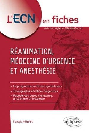 Réanimation, médecine d'urgence et anesthésie-ellipses-9782340028890