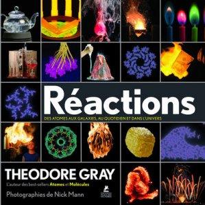 Réactions, des atomes aux galaxies-place des victoires-9782809915044