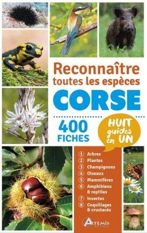 Reconnaitre toutes les espèces de Corse-artemis-9782816009071