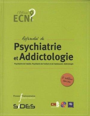 Référentiel de Psychiatrie et Addictologie-presses universitaires francois rabelais-9782869064195