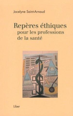Repères éthiques pour les professions de la santé-liber canada-9782895786757