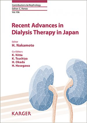 Recent Advances in Dialysis Therapy in Japan-karger-9783318062977