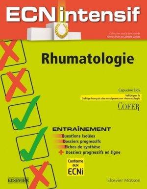 Rhumatologie-elsevier / masson-9782294724831