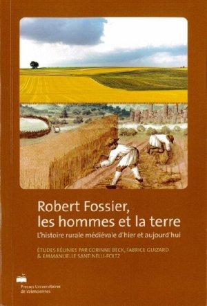 Robert Fossier, les hommes et la terre-presses universitaires de valenciennes-9782364240544