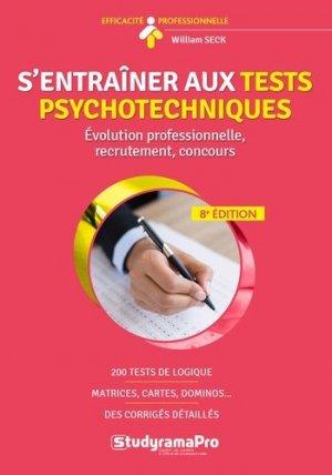 S'entraîner aux tests psychotechniques-studyrama-9782759040407