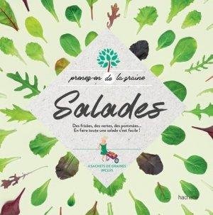 Salades - hachette - 9782017040934