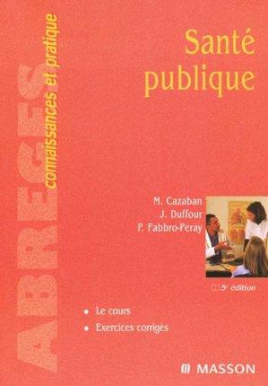 Santé publique-elsevier / masson-9782294018572
