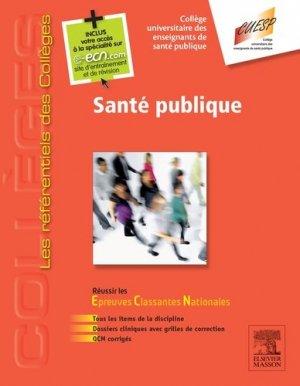 Santé publique-elsevier / masson-9782294745591