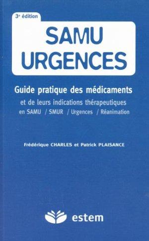 Samu urgences - estem - 9782843713835