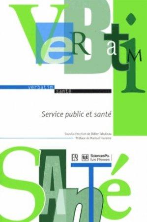 Service public et santé - de sante - 9782864112709