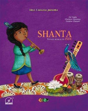 Shanta, voyage musical en Inde - lacaza musique - 9791094193136