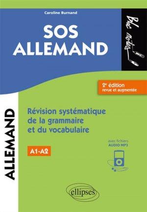 SOS allemand, niveau 1 / révision systématique de la grammaire et du vocabulaire-ellipses-9782340026438