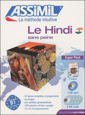 Super Pack - Le Hindi - Débutants et Faux-débutants - assimil - 9782700580143