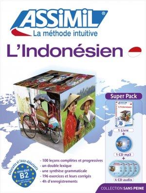 Super Pack - L'Indonésien - Débutants et Faux-débutants-assimil-9782700580358