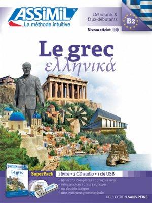 Le Grec - Débutants et Faux-débutants - Super Pack - assimil - 9782700580952
