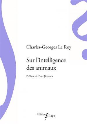 Sur l'intelligence des animaux-sillage-9791091896702