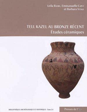 Tell Kazel au Bronze récent-IFPO-9782351597408