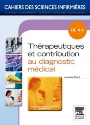 Thérapeutiques et contribution au diagnostic médical - elsevier / masson - 9782294715136