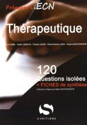 Thérapeutique-s editions-9782356401502