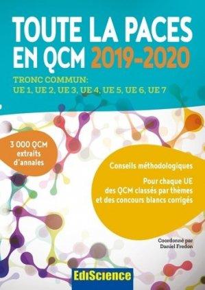 Toute la PACES en QCM 2019-2020-ediscience-9782100796229