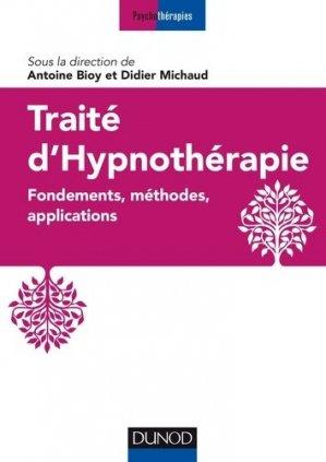 Traité d'hypnothérapie-dunod-9782100786206