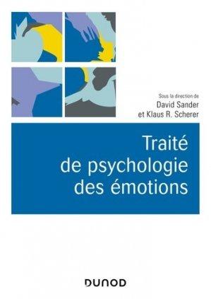 Traité de psychologie des émotions-dunod-9782100793273