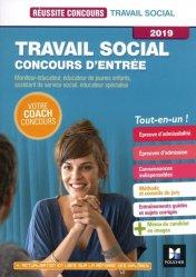 Travail social Concours d'entrée 2019-foucher-9782216149698