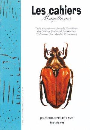 Trois nouvelles espèces de Cetoniinae des Célèbes Sulawesi, Indonésie-magellanes-9782353870325