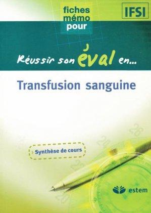 Transfusion sanguine-estem-9782843713552
