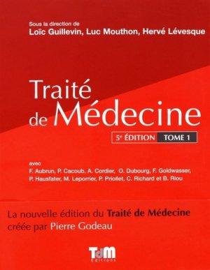 Traité de Médecine - Tome 1-tdm editions-9782901094012