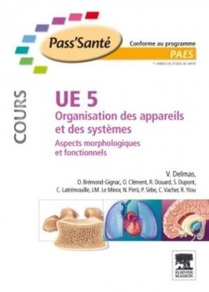 UE5 Organisation des appareils et des systèmes - elsevier / masson - 9782294710056