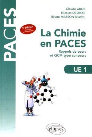 UE1 - La chimie en PACES - Rappels de cours et QCM type concours-ellipses-9782340014213