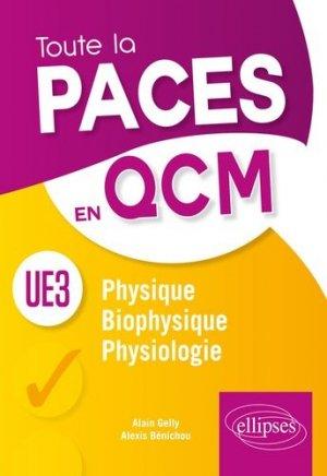 UE3 - Physique, Biophysique, Physiologie-ellipses-9782340025462