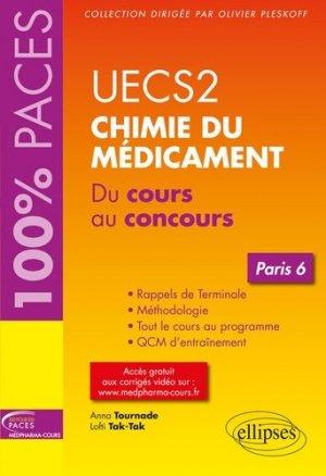 UECS 2 Chimie du médicament-ellipses-9782340027640