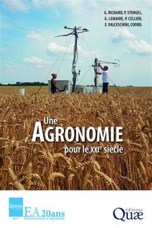 Une agronomie pour le XXIe siècle - quae - 9782759229376