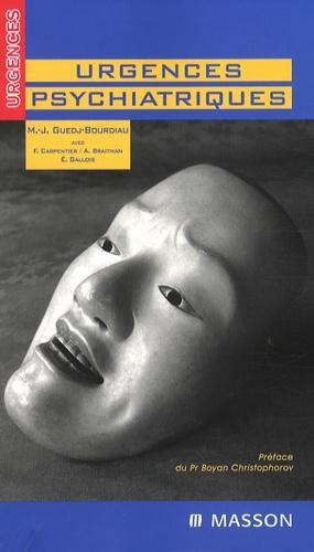 Urgences psychiatriques - elsevier / masson - 9782294054761