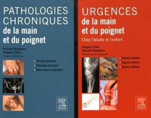 Urgences de la main et du poignet - Pathologie chroniques de la main et du poignet-elsevier / masson-9782294757006