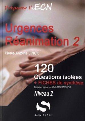 Urgences Réanimation - Tome 2 Niveau 2-s editions-9782356401656