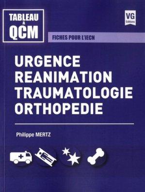 Urgences, réanimation, traumatologie, orthopédie-vernazobres grego-9782818316610