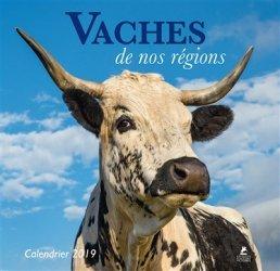 Vaches de nos regions, calendrier 2019 - place des victoires - 9782809915907