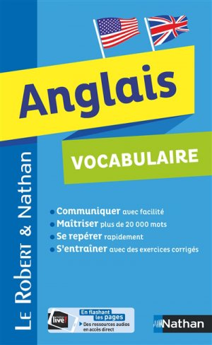 Vocabulaire Anglais - Robert  Nathan-nathan-9782091520117