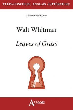 WALT WHITMAN LEAVES OF GRASS -ATLANDE-9782350304601