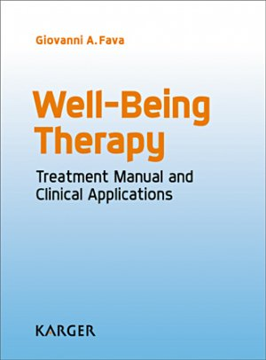 Well-Being Therapy-karger -9783318058215