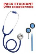 PACK ETUDIANT - St�thoscope Magister + Marteau r�flex Spengler ADULTE - BLEU MARINE