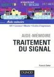 Aide-mémoire Traitement du signal