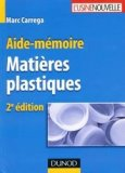 Aide-mémoire Matières plastiques