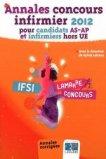 Annales Concours infirmier 2012 pour candidats AS-AP et infirmiers hors UE