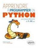 Apprendre à programer en Python pour jeunes débutants de 7 à 97 ans
