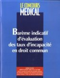 Bar�me indicatif d'�valuation des taux d'incapacit� en droit commun