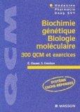 Biochimie g�n�tique - Biologie mol�culaire
